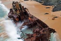 shipwrecks / epaves / by Den Ver