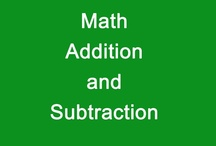 Math- Addition and Subtraction / by Diving Into Learning