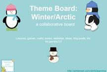 Theme- Winter/Arctic / K-2 lessons, games, crafts, websites and books focusing on a winter/arctic theme. Contributors- please pin 1:1 ratio (1 paid product per freebie/craft/book/etc).  / by Diving Into Learning