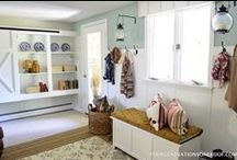 Mudrooms / mudroom ideas, mudroom inspiration, DIY mudrooms