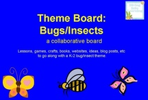 Theme- Bugs/Insects / K-2 lessons, games, crafts, websites and books to go along with bug/insect theme. Contributors- please pin 1:1 ratio (1 paid product per freebie/craft/book/etc).
