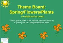 Theme- Spring/Flowers/Plants / Lessons, games, crafts, books, websites, ideas, blog posts, etc to go along with a K-2 spring/flowers/plants theme. Contributors- please pin 1:1 ratio (1 paid product per freebie/craft/book/etc).