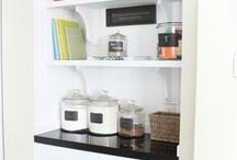 Kitchen Pantries / kitchen panty ideas, kitchen pantries, kitchen pantry inspiration, putting together a kitchen pantry, kitchen pantries for inspiration