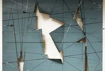 Material Surfaces [Optical illusions] / Digital print design ideas- structural