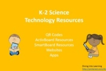 K-2 Science Technology Resources / K-2 science lessons and games for QR Codes, ActivBoards, SmartBoards, websites and apps.  / by Diving Into Learning