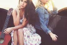 MEGAN & LIZ / Pretty girls, and they are very talented..