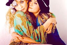 MARY-KATE & ASHLEY / 2 of my idols growing up. They're so pretty..
