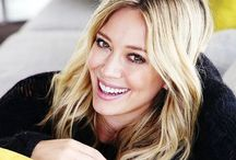 HILARY DUFF / One of the child actresses who actually hasn't gone completely crazy, and one of my huge role models when I was younger..