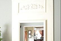 Decorative Mirrors / decorative mirrors, decorating your home with mirrors, mirror inspiration, mirror ideas, mirror decor