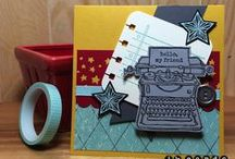 Cards - Tap Tap Tap / by Hill Country Stampin'