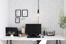 Masculine Office Ideas / masculine office ideas, office ideas for men, office inspiration for men, manly offices