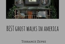 Ghost Walks by TerranceZepke.com / Discover America's best ghost walks from coast to coast. #ghost