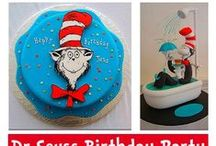 Cat In The Hat Party Ideas / Everything from cakes, costumes and decor for parties