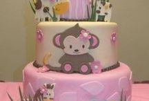 Safari / Animal Party Theme / Decor, cake and costumes