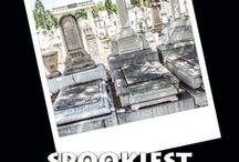 Spookiest Cemeteries by TerranceTalksTravel.com / Discover the most haunted cemeteries in America--if you dare! Third book in the popular SPOOKIEST SERIES. www.terrancezepke.com