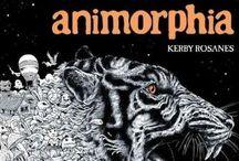 Animorphia/Imagimorphia/Mythomorphia / One of my favorite coloring books