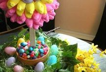 Amy's Crafty Crafts for Easter / Easter crafts / by Amy Higgins-Margalli