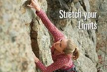 Women Who Rock (climb) / Our company was started by rock climbers. Here's to strong women! / by Stonewear Designs