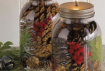 "Mason Jar Uses / Mason jars are invaluable and can do so much.  The best places to get mason jars is a dollar store or in ""season"" at your grocery store.  Ace Hardware is the only place I know that sells decorative mason lids. / by Deborah Dolen"