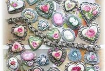 Hearts / I love hearts - especially love Heart Jewelry!  Many of my jewelry designs have hearts in them, so you will find many of my own heart jewelry designs on this Board, but also some by others.  Doesn't have to be jewelry though, any beautiful Heart might find a spot on this Board!
