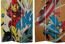 Superhero Room Dividers / by SimplySuperheroes.com