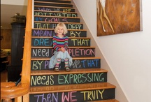 Chalkboard Paint Projects / The most creative ways to use chalkboard paint from all over the web. / by Brit Morin