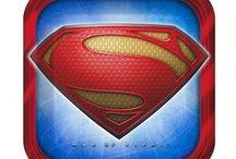 Superman Man Of Steel Party Supplies / Officially licensed party supplies of the Superman Man Of Steel movie by Hallmark. / by SimplySuperheroes.com