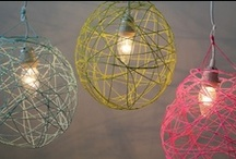 Light Up A Room from Brit + Co / Bring light to your home and rooms with these lamps and fixtures.