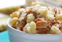 "Mac & Cheese ~ Above & Beyond / Nobody could accuse you of feeding them ""boxed pasta with cheese food"" in these recipes! The old standby gets star billing here."