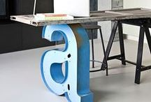 Workspace from Brit + Co / Bring your office and cubicle to life with these workspace desk decor ideas.