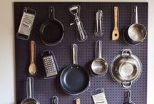 For The Kitchen from Brit + Co / Keep your kitchen chic and organized with these decor ideas and need-to-have cooking accessories.