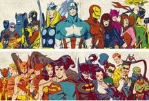 Fandom; Marvel/DC Universe / Comic book love.