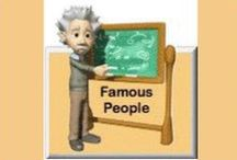 Famous People - Thematic Units eWorkbooks / Famous People - Thematic Units eWorkbooks - offers 16 thematic units to download.  / by SchoolExpress
