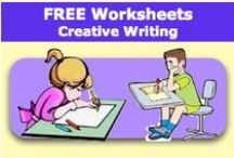 Free Worksheets - Creative Writing / Free Worksheets - Creative Writing offers a large variety of worksheets to download. / by SchoolExpress