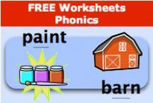 Free Worksheets - Phonics / by SchoolExpress