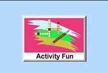 "Activity Fun eWorkbooks / There are 2 Activity Fun Bundles of eWorkbooks. 1. Draw and Design - This bundle consists 4 eWorkbooks. It offers 108 draw and design pages. 2. Criss Cross Spelling Activities - Children enjoy criss cross activities. This type of activity helps children with spelling words. This ""Criss Cross Bundle"" offers 4 eWorkbooks with 56 pages. Answers are provided. / by SchoolExpress"