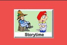 Story Time eWorkbooks / This Story Time eworkbooks offer the story in a large font size, coloring pages accompany the reading pages. The stories appeal to preschool through age eight. The story can be read to children who do not know how to read. Six year old children who are good readers should be able to read the story. / by SchoolExpress