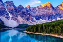 To see at Banff and Jasper