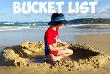 Boys Bucket List / There are so many places we are yet to discover around the world and this is where you will find our top inspiration for places ideal for family travel with boys. Start planning your next dream holiday.