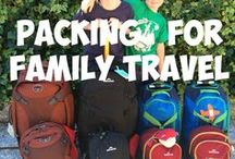 Packing for travel with boys / With tips and advice on packing for family travel to help you travel better with boys.