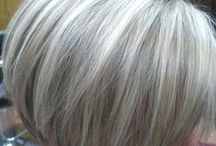 Style / Silver and gray hair ideas.