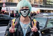 Men's Style Harajuku/Asian / Fashion, hair, makeup and jewelry.