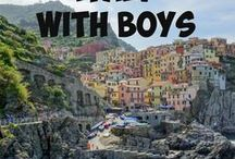 Italy family travel / Are you planning a trip to Italy with your family? Discover great tips, family-friendly places to explore, stay and eat, and resources to help you plan your dream holiday. Inspiration from Travel with Boys and leading family travel bloggers and publications.