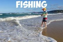 Camping and Fishing - Family travel / Tips, destination ideas and advice on camping and fishing with the family, to help you travel better with boys.