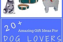 Dog-Themed Gift Ideas / Great gift ideas for dog owners and their lucky dogs! Include DIY projects, unique products, experiences and charities!