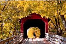 Covered bridges / by Bobbie Hales