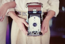 Vintage Cameras make me Smile / Charming cameras from the past...and a few re-productions I love...