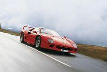 Ferrari F40 / The Ferrari F40 is my favorite car of all time.