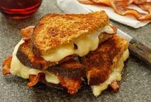 Grilled cheese anyone / A homage to grilled cheese sandwiches