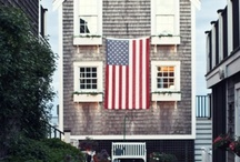 3 Cheers for Red,White & Blue / Patriotic Decor